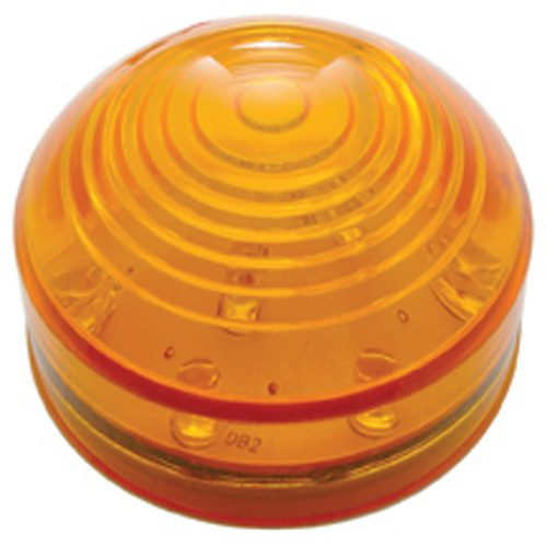 "(CARD) 13 AMBER LED 2 1/2"" ROADSTER CLEARANCE/MARKER LIGHT - AMBER LENS"