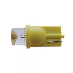 (2/CARD) 194 BULB W/ 1 LARGE TUBE LED - AMBER