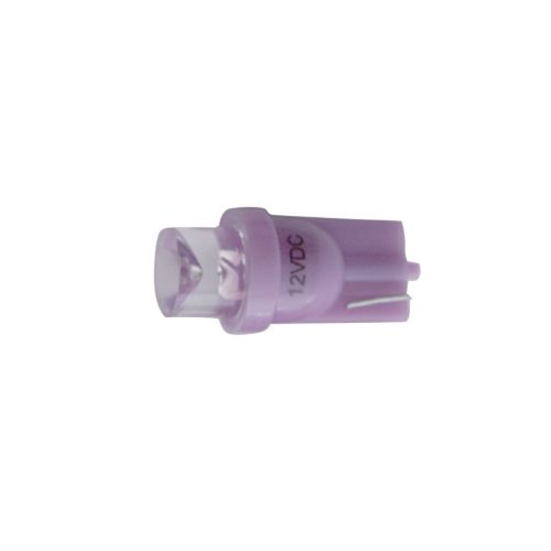 (2/CARD) 194 BULB W/ 1 LARGE TUBE LED - PURPLE