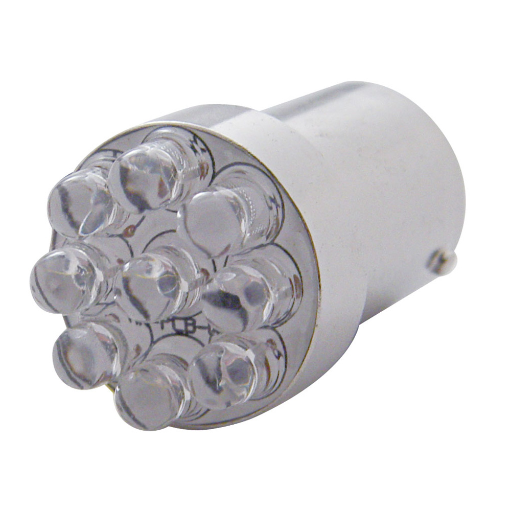 (2/CARD) 9 BLUE LED 89 BULB 7.3 WATTS