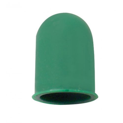 (6/CARD) SMALL BULB COVER - GREEN