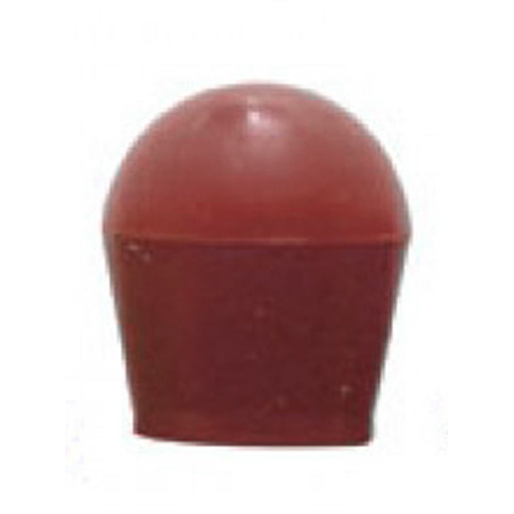 (2/CARD) LARGE BULB COVER - RED