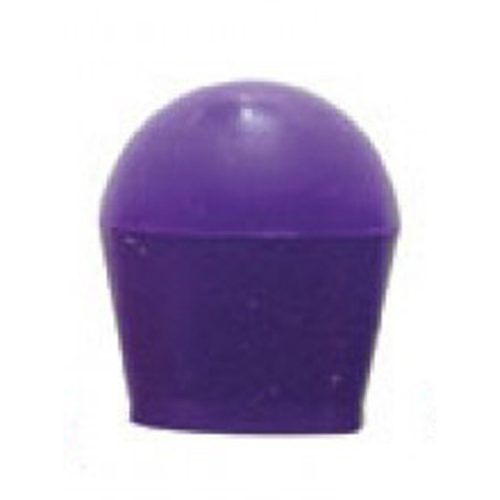 (2/CARD) LARGE BULB COVER - PURPLE