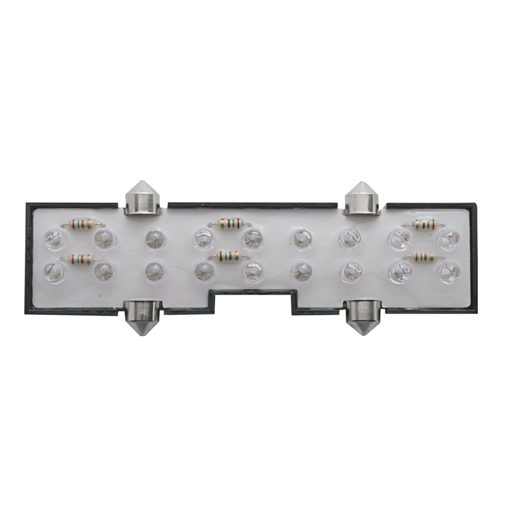 (CARD) 18 AMBER LED PETERBILT CENTER DOME LIGHT
