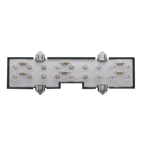 (CARD) 18 WHITE LED PETERBILT CENTER DOME LIGHT