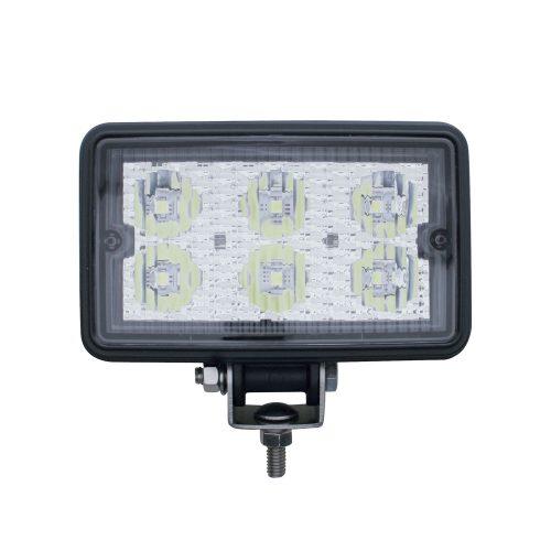 (CARD) 6 HIGH POWER 1 WATT LED RECTANGULAR WORKING LIGHT
