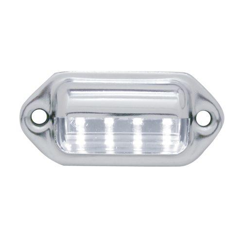 (CARD) CHROME 4 WHITE LED UTILITY/LICENSE LIGHT