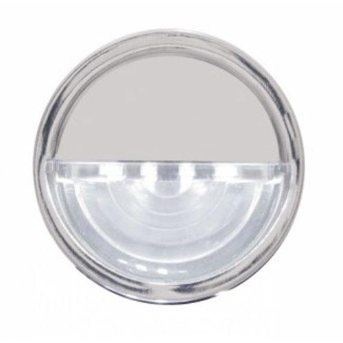 (BULK) 4 LED ROUND LICENSE/AUXILIARY LIGHT