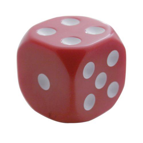 (BULK) RED DICE GEARSHIFT KNOB