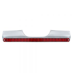 (BOX) MOTORCYCLE REAR TURN SIGNAL BAR WITH 19 RED LED LIGHT BAR - RED