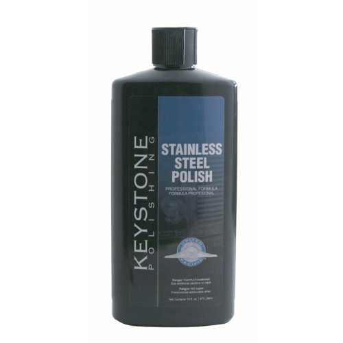 (BULK) 16 OZ. KEYSTONE STAINLESS STEEL POLISH