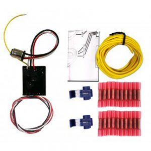 (CARD) SEQUENTIAL LED LIGHT KIT