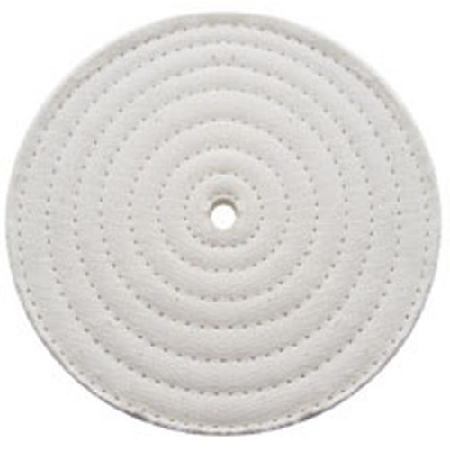 """(PACK) 6"""" ASSORTED SOFT MUSLIN/SPIRAL SEWN - 30 PLY. & 1/2"""" ARBOR"""