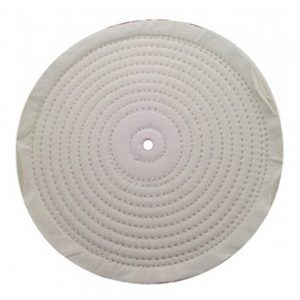"""(PACK) 8"""" ASSORTED SOFT MUSLIN/SPIRAL SEWN - 30 PLY. & 1/2"""" ARBOR"""