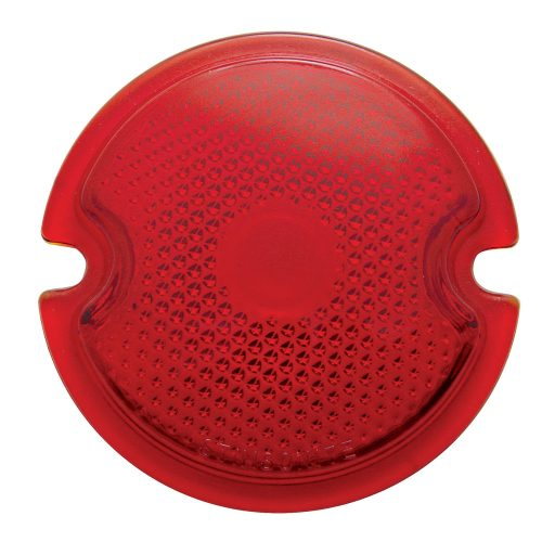 (BULK)1933-36 RED TAIL LIGHT GLASS LENS