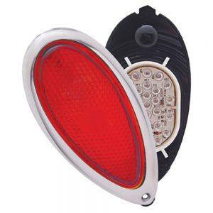 (BULK) 28 RED LED 1938-39 FORD TAIL LIGHT BULB W/HOUSING