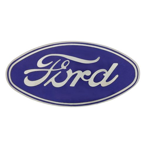 1928-30 MODEL 'A' FORD RADIATOR SHELL EMBLEM WITH ADHESIVE MOUNT