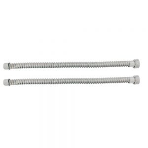 (2/BULK)1928-31 STAINLESS STEEL HEADLIGHT CONDUIT SET