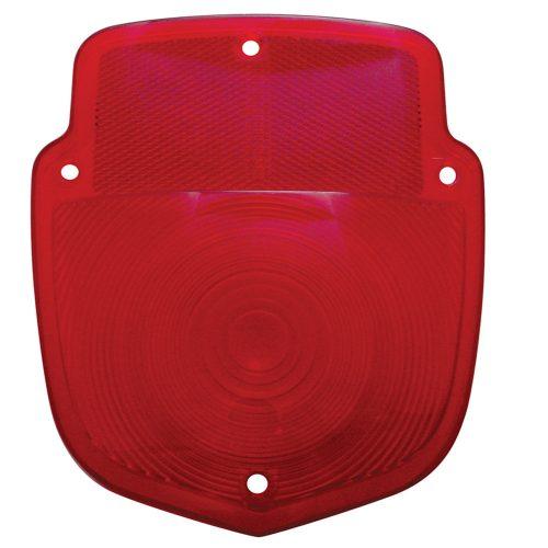 (BULK)1953-56 RED TAIL LIGHT PLASTIC LENS