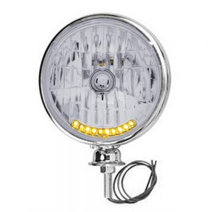 """STAINLESS 7"""" DIETZ H/L W/CRYSTAL 10-LED (S2010LED)"""