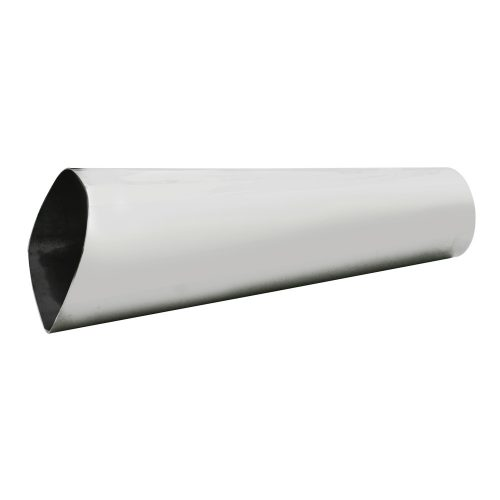"(BULK)STAINLESS STEEL 2 1/2"" OVAL EXHAUST TIP"