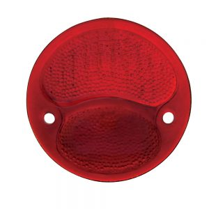 (BULK)1928-31 ALL RED TAIL LIGHT GLASS LENS