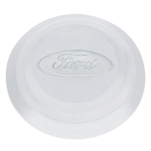 1932-33 FORD 4-CYLINDER PASSENGER &  PICK-UP POLISHED STAINLESS STEEL HUB CAP