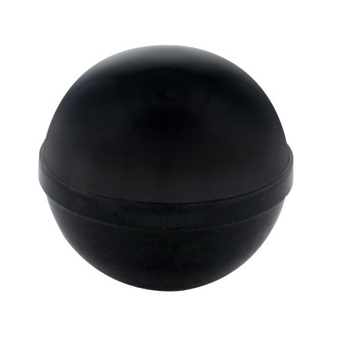 (BULK)1928-31 BLACK ROUND GEARSHIFT KNOB WITH BRASS THREAD INSERT