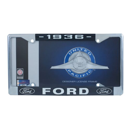 1936 FORD LICENSE PLATE FRAM