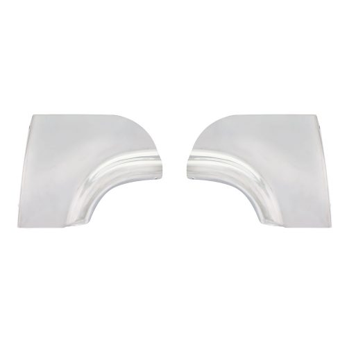 (PAIR)STAINLESS STEEL 1955 SCUFF PADS