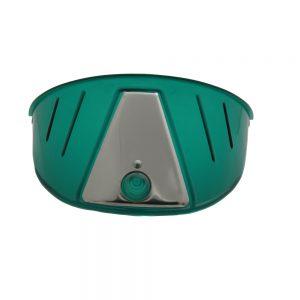 (PAIR)TRANSLUCENT PLASTIC HEADLIGHT VISOR-GREEN