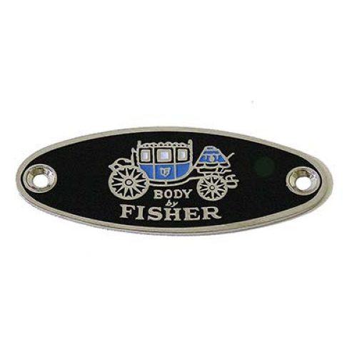 (BULK)1933-39 FISHER BODY TAG
