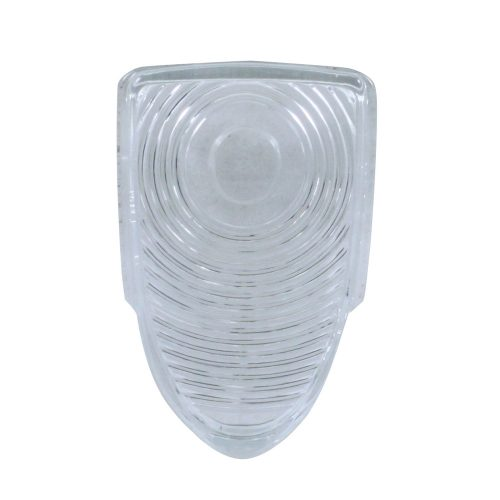 (BULK)1951 CARS GLASS PARK LIGHT LENS-CLEAR