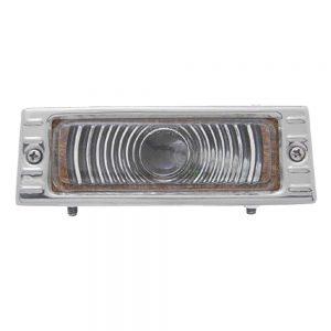 1947-53 CHEVY TRUCK PARK LIGHT 6V TS W/ CHROME PLATED BEZEL