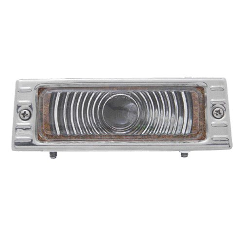 1947-53 CHEVY TRUCK PARK LIGHT 6V TS W/ CHROME PLATED BEZEL