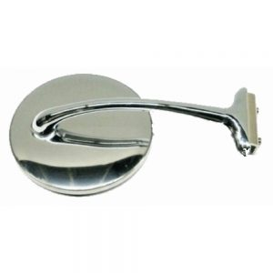 "CLASSIC STYLE DOOR EDGE MIRROR WITH 4"" ROUND MIRROR HEAD"