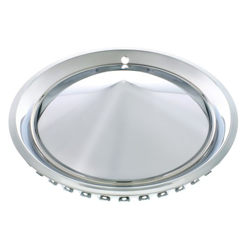 "15"" 57-PLYMOUTH HUBCAP SET CHROME PLATED / SET OF 4"