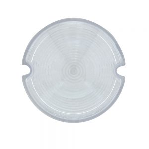 (BAG) 1951-53 GMC TRUCK PARKING LIGHT LENS - CLEAR PLASTIC