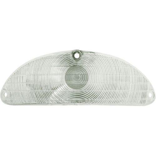 (BULK)1955 PLASTIC PARK LIGHT LENS-CLEAR