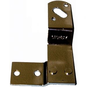 (BULK)1947-53 BLACK TAIL LIGHT BRACKET-RIGHT SIDE