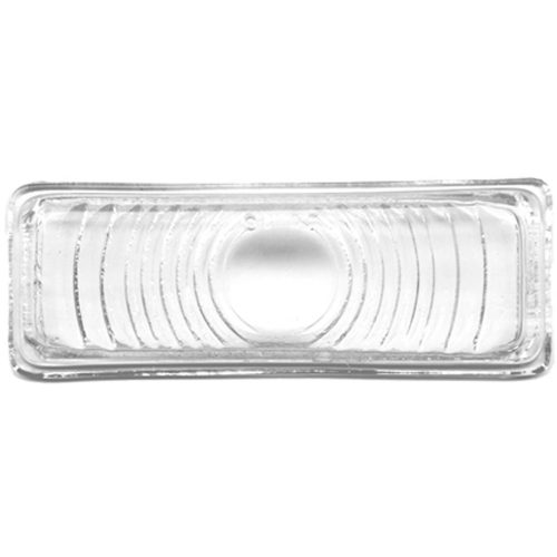 (BULK)1947-53 GLASS PARKING LIGHT LENS-CLEAR