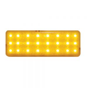 (CARD) 1947-53 CHEVY TRUCK LED PARKING LIGHT - AMBER/AMBER LENS