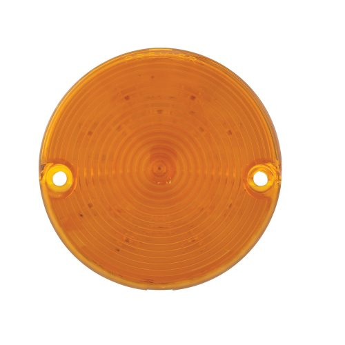 (CARD) 17 AMBER LED 1957 CHEVY TURN SIGNAL AND PARKING LIGHT-AMBER LENS