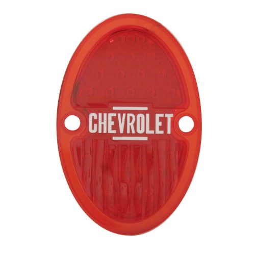 (CARD) 1933-36 CHEVY LED TAIL LIGHT LENS - RIGHT SIDE