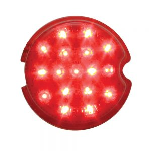 (CARD)17 RED LED 1939 CHEVY TAIL LIGHT-RED LENS