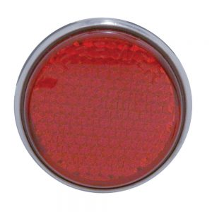 (BULK) 5 RED LED TAB MOUNTING AUXILIARY/UTILITY LIGHT - RED LENS