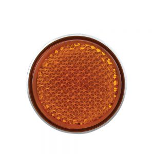 AMBER REFLECTOR WITH AMBER LED