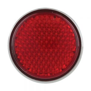 (BULK) 5 RED LED STUD MOUNTING AUXILIARY/UTILITY LIGHT - RED LENS