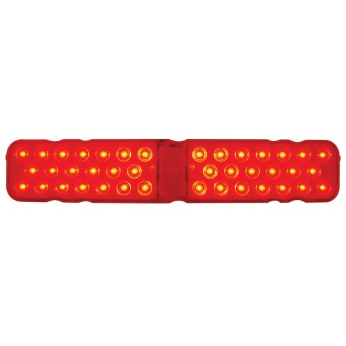 (CARD) 40 RED LED 1967 CHEVY CAMARO RS TAIL LIGHT-RED LENS