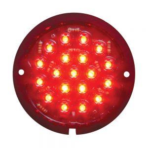 (BAG) 19 LED 1933-36 FORD TAIL LIGHT (RETROFIT)-RED LENS